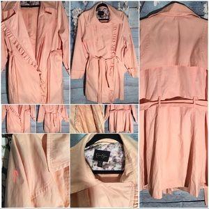 Jessica Simpson Pink Rain Jacket 2x pre loved